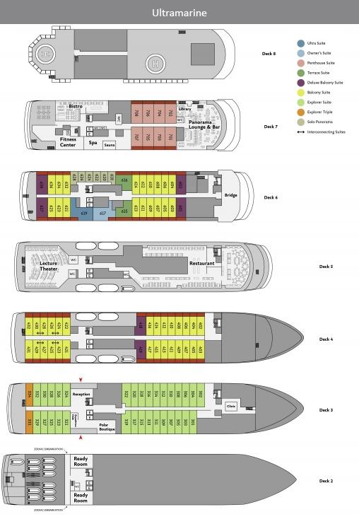 Ultramarine Deckplan